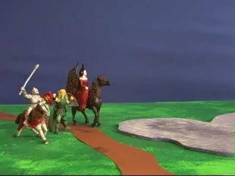 Eventyret starter... interaktiv animationsfilm lavet på fritidshjem - vælg selv historiens forløb