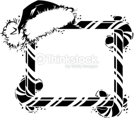 33+ Candy cane border clip art black and white info