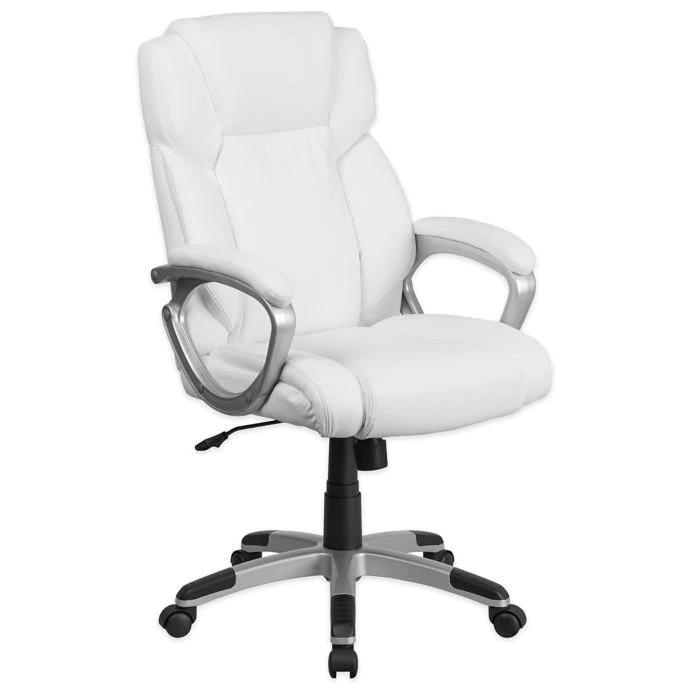 Flash Furniture MidBack Bonded Leather Executive Office Chair