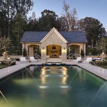 open pool house. Open Pool House G