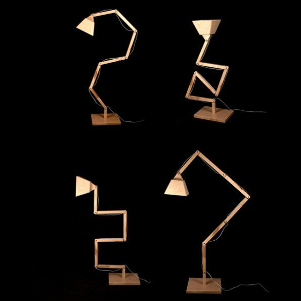 Wooden Table Lamp by BlackGizmo Design I The ICONIST http://www.iconist.de/dl022?wt_mc=P