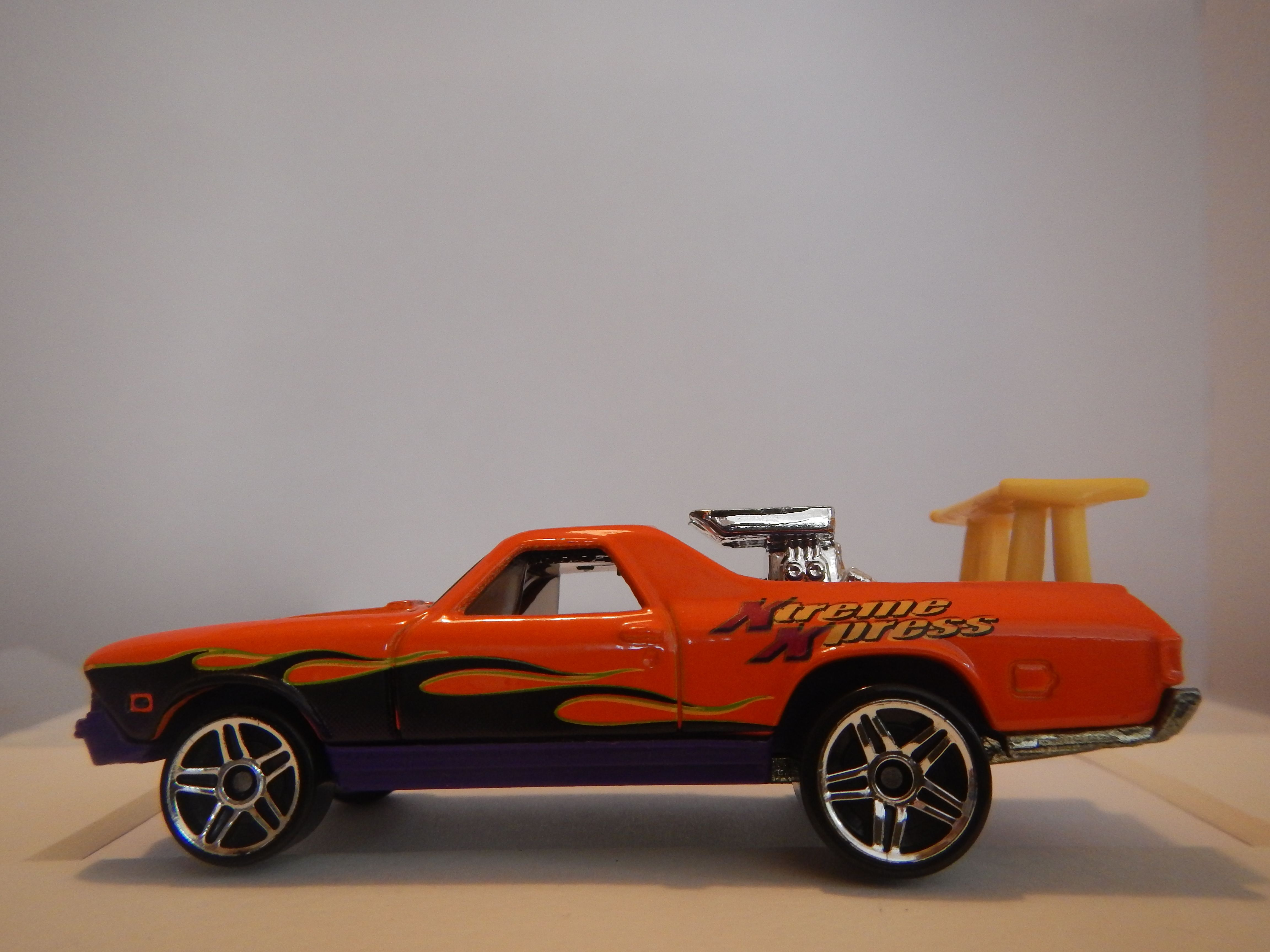 68 Chevrolet El Camino By Hot Wheels 1999 Thailand