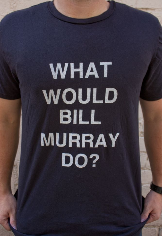 bill murray SNL ONE SHIRT ONLY Iconic Comedian T shirt caddyshck ghostbusters celebrity vibes