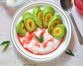 Resep Es Pisang Ijo Yang Banyak Dicari Resep Makanan Dan Minuman Makanan