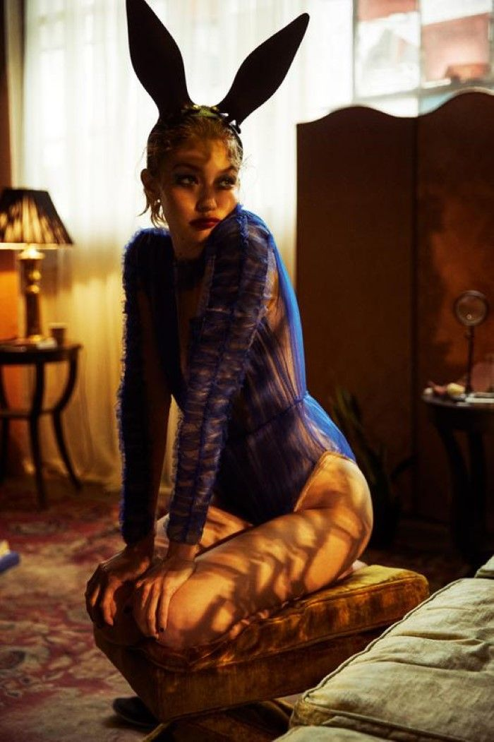 Gigi Hadid Is A Rogue Bunny In Mikael Jansson Images For LOVE Magazine Fall 2018 — Anne of Carversville – photoshootzzzzzzz