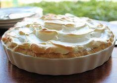 Savoir Faire: Pie de limón con merengue ~ Lemon pie