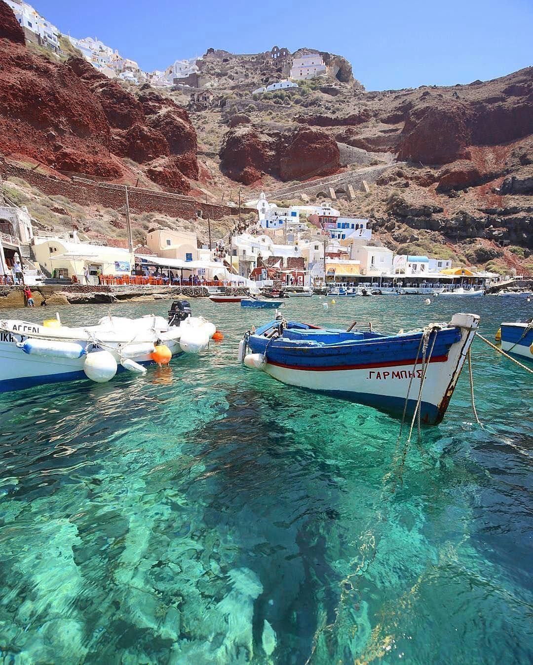 Amoudi Villas Santorini Santorini Sur Instagram Beautiful Amoudi Bay And