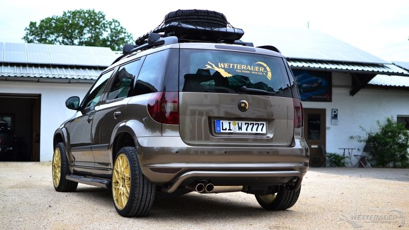 Skoda Yeti 1 8 Tsi Von Upgraded De By Wetterauer Tuner Upgraded