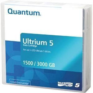 Qty 5 MR-L5MQN-01 (Kit)MR-L5MQN-05 by Quantum. $494.76. Description MEDIA 5-PK QTM DATA CARTRIDGE FOR LTO-5, contains Qty 5 MR-L5MQN-01, Ultrium-5 Data Cartridges. 1500GB Native / 3000GB Compressed per cartridgeStorage Removable Capacity (Native) 1.5 TB Storage Removable Capacity (Compressed) 3 TB