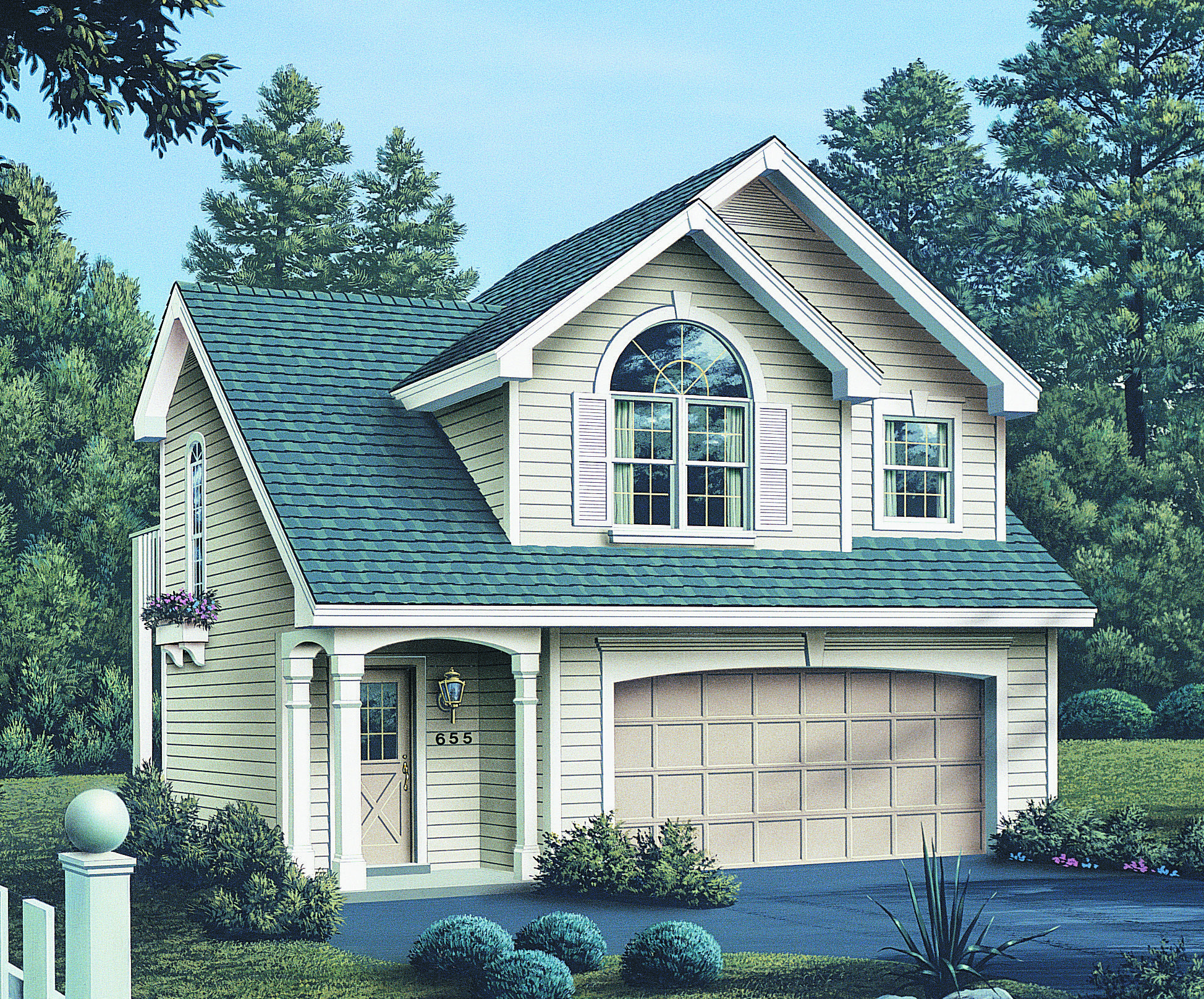 Plan 5743ha cozy carriage house plan house plans for Carriage garage plans