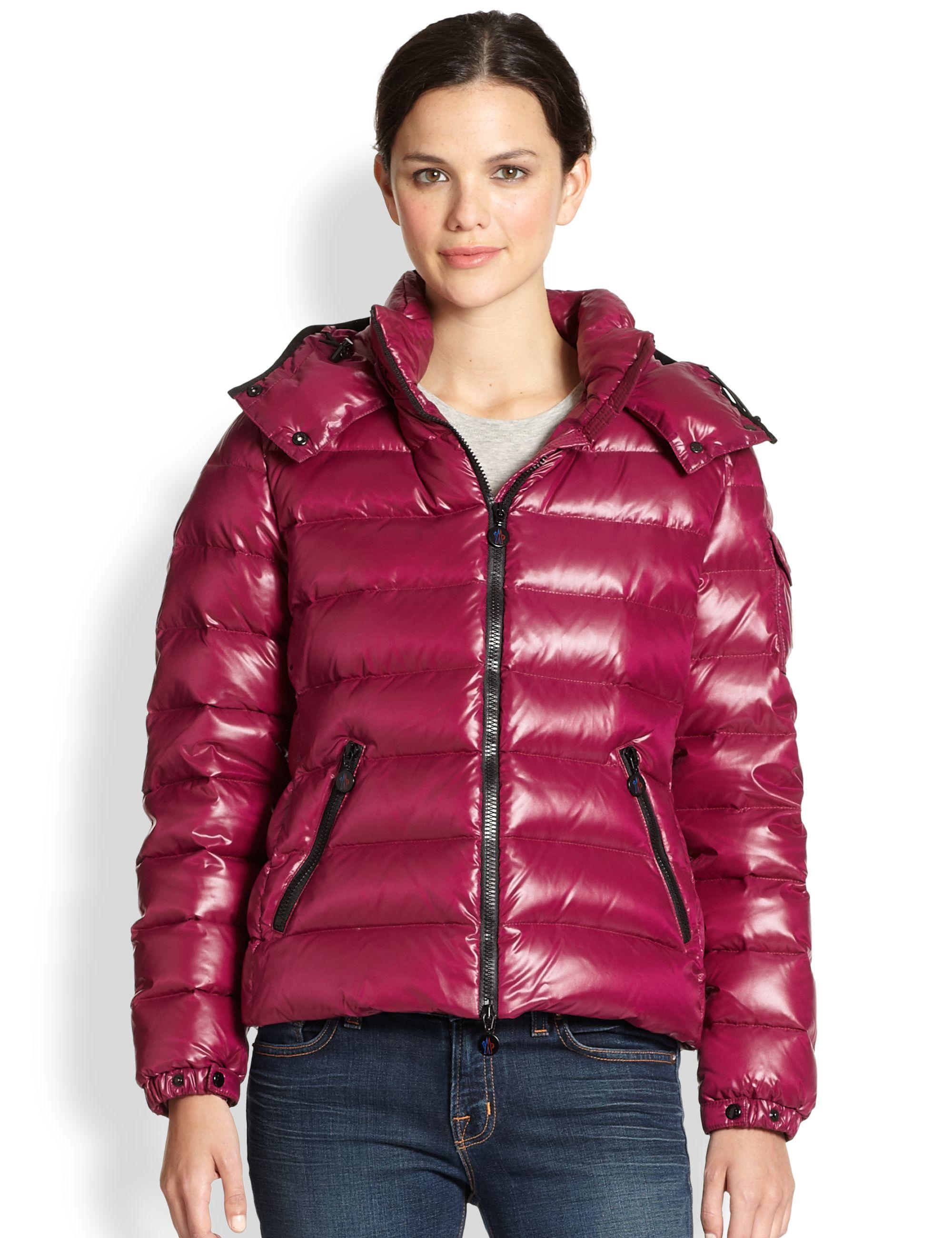 68ff6efed136 Pink Moncler  Bady  down jacket