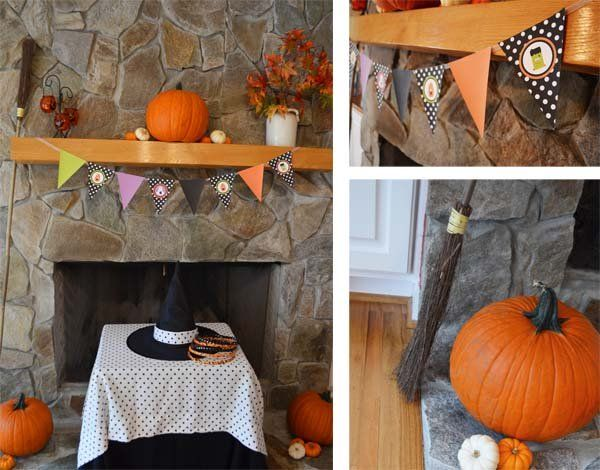 Halloween party decorating ideas Halloween Pinterest Halloween - kids halloween party decoration ideas