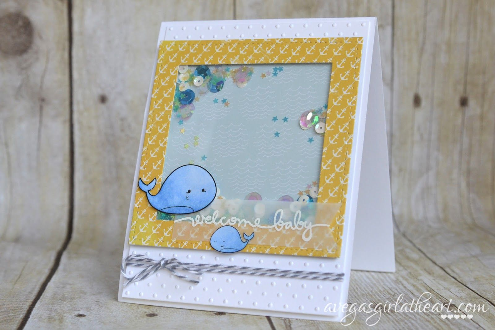 A Vegas Girl at Heart: Welcome Baby Card