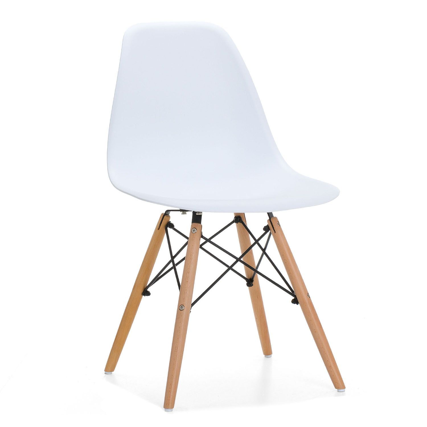 Inspired By Eames Dining Chair Dsw Designed By Charles Ray Eames