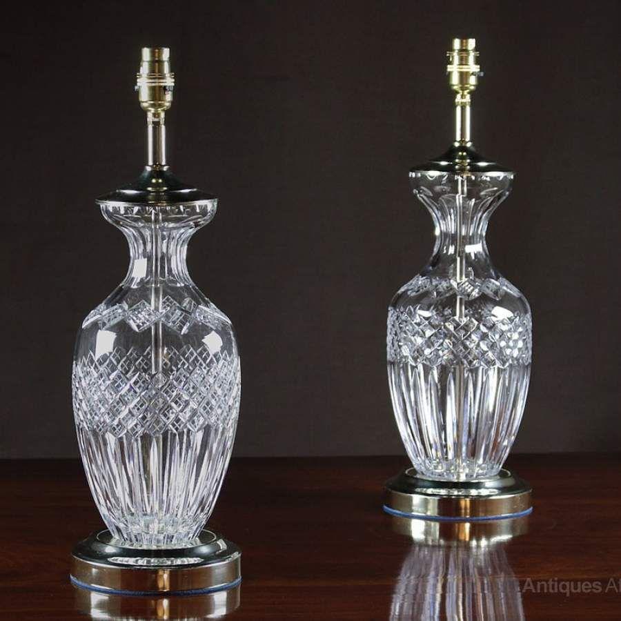 Antiques atlas pair cut glass table lamps set of 2 excelsior glass antiques atlas pair cut glass table lamps mozeypictures Images