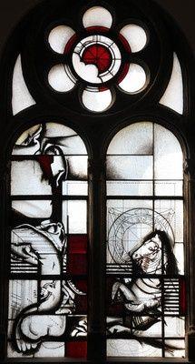 Joachim Klos Paulusfenster 1974 Fenster In Der Kapelle