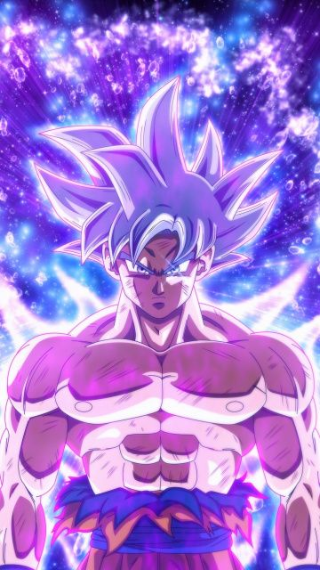 360x640 wallpaper Ultra instinct, anime boy, goku, dragon ...
