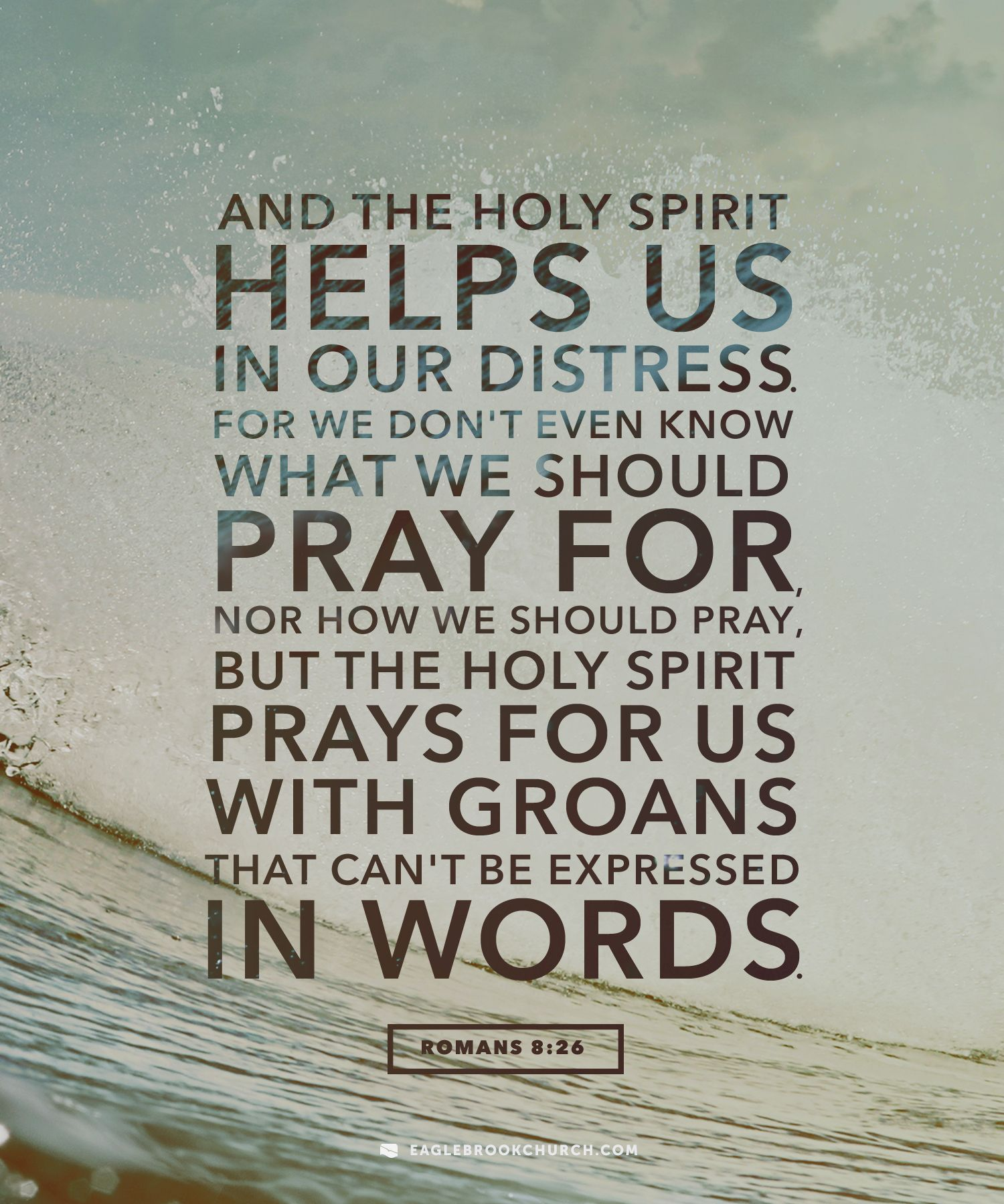 This week, if you have a difficult conversation coming up, ask the Holy  Spirit to fill you with his power. If you have a lot to do or if there's  something ...