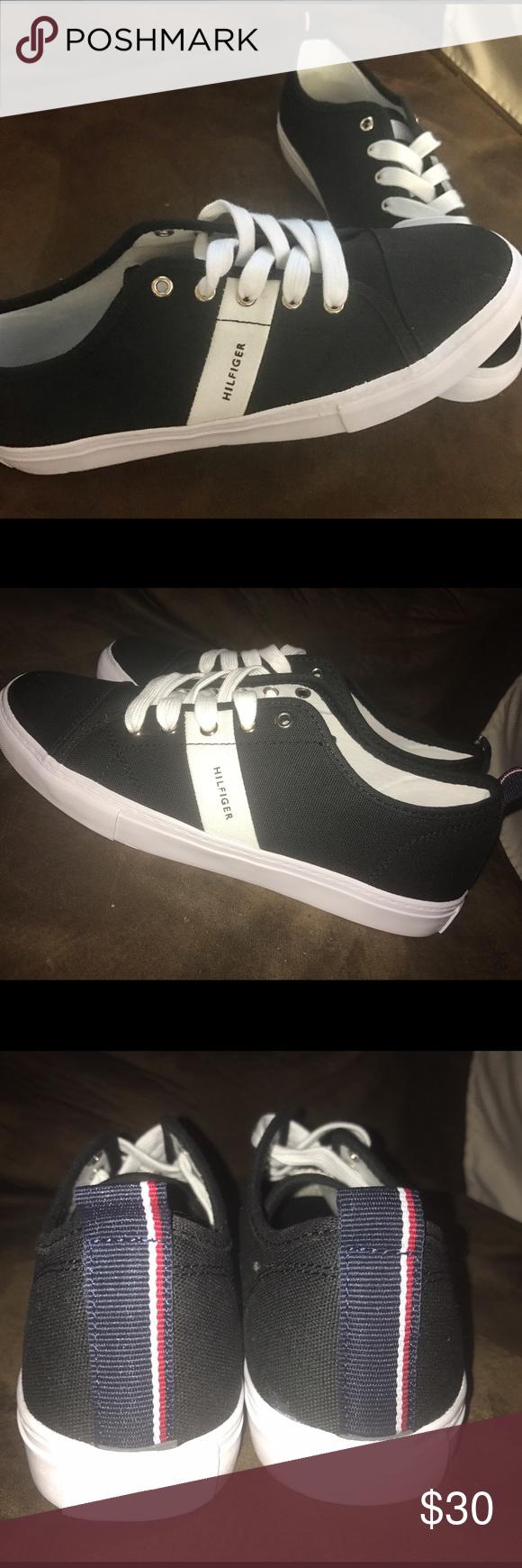 Tommy Hilfiger Sneakers Unworn size 8 1/2 Black Tommy Hilfiger sneakers Tommy Hilfiger Shoes Sneakers