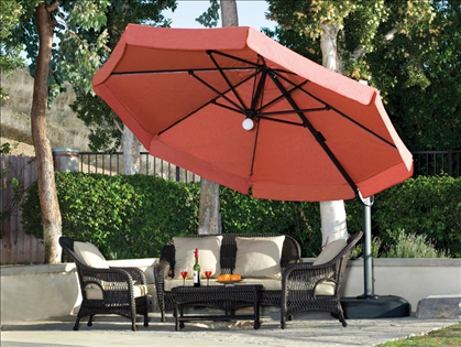 Nice This Is The Last Patio Umbrella Youu0027ll Ever Have To Buy. Wanda Tech Milano  Pro 11.5 Foot Side Post Octagonal Patio Umbrella With Built In Lights And  Power ...