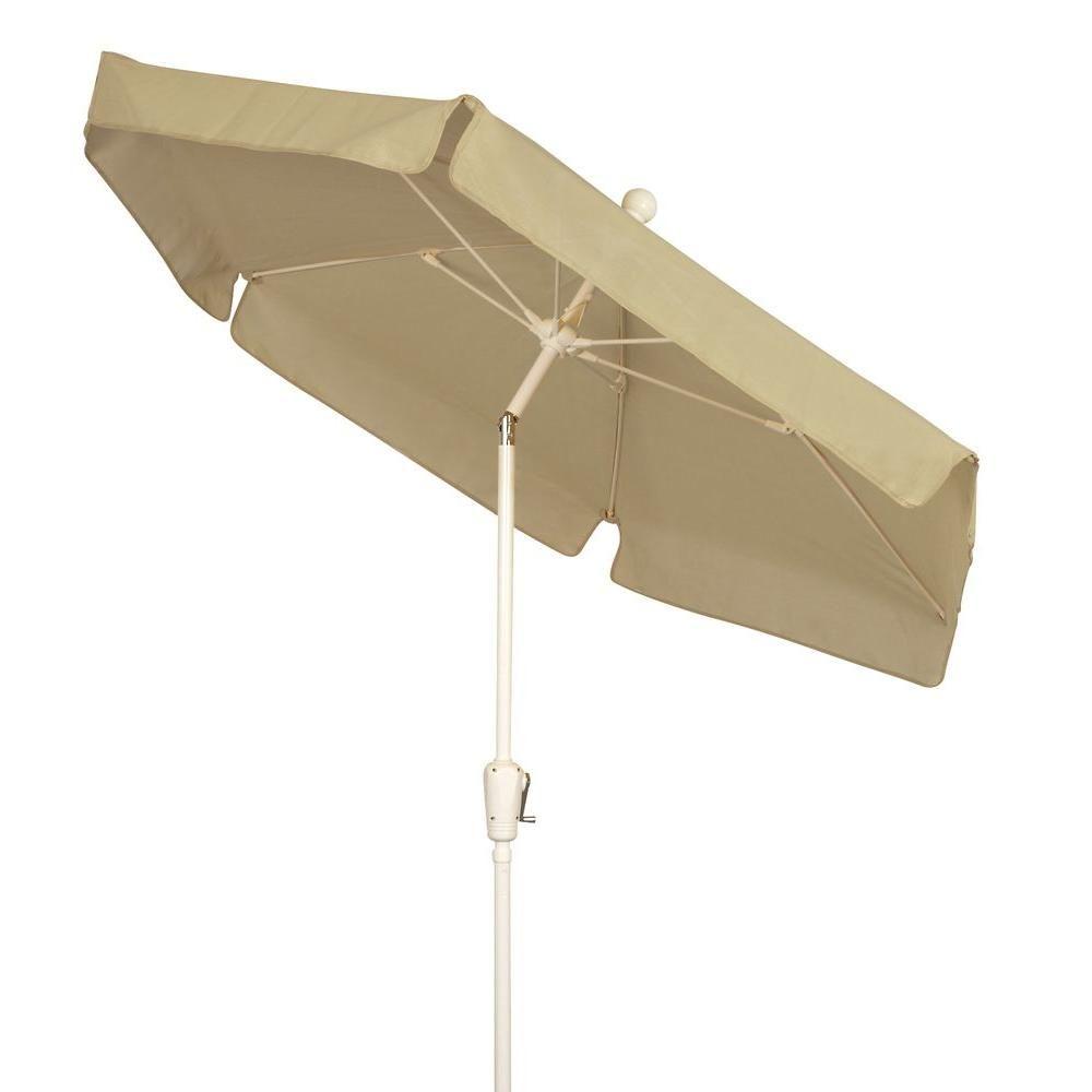 Fiberbuilt Umbrellas 7.5 Ft. Patio Umbrella In Beige