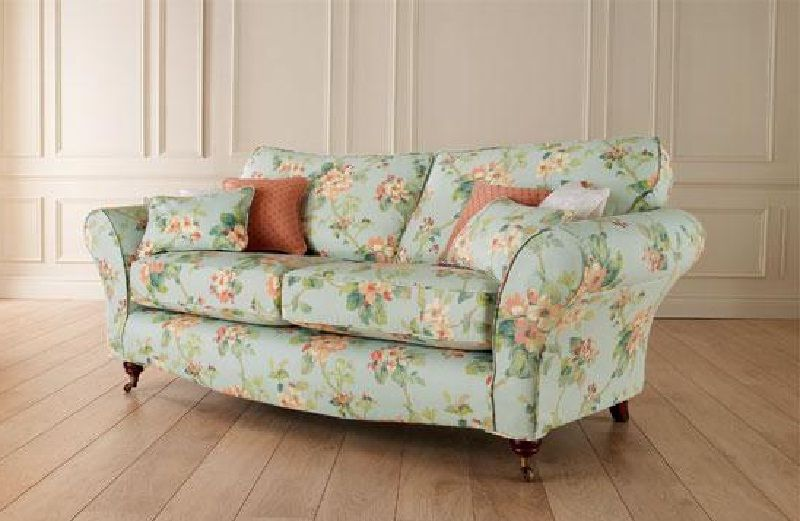 Floral And Spring Blossoms Printed Sofa Printed Sofa Printed Fabric Sofa Sofa Design