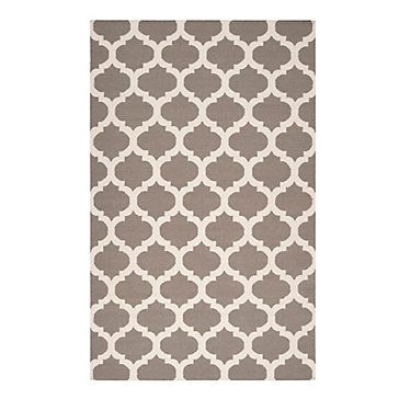 Casablanca Dhurrie Rug   Fog | Area Rugs | Panels And Rugs |