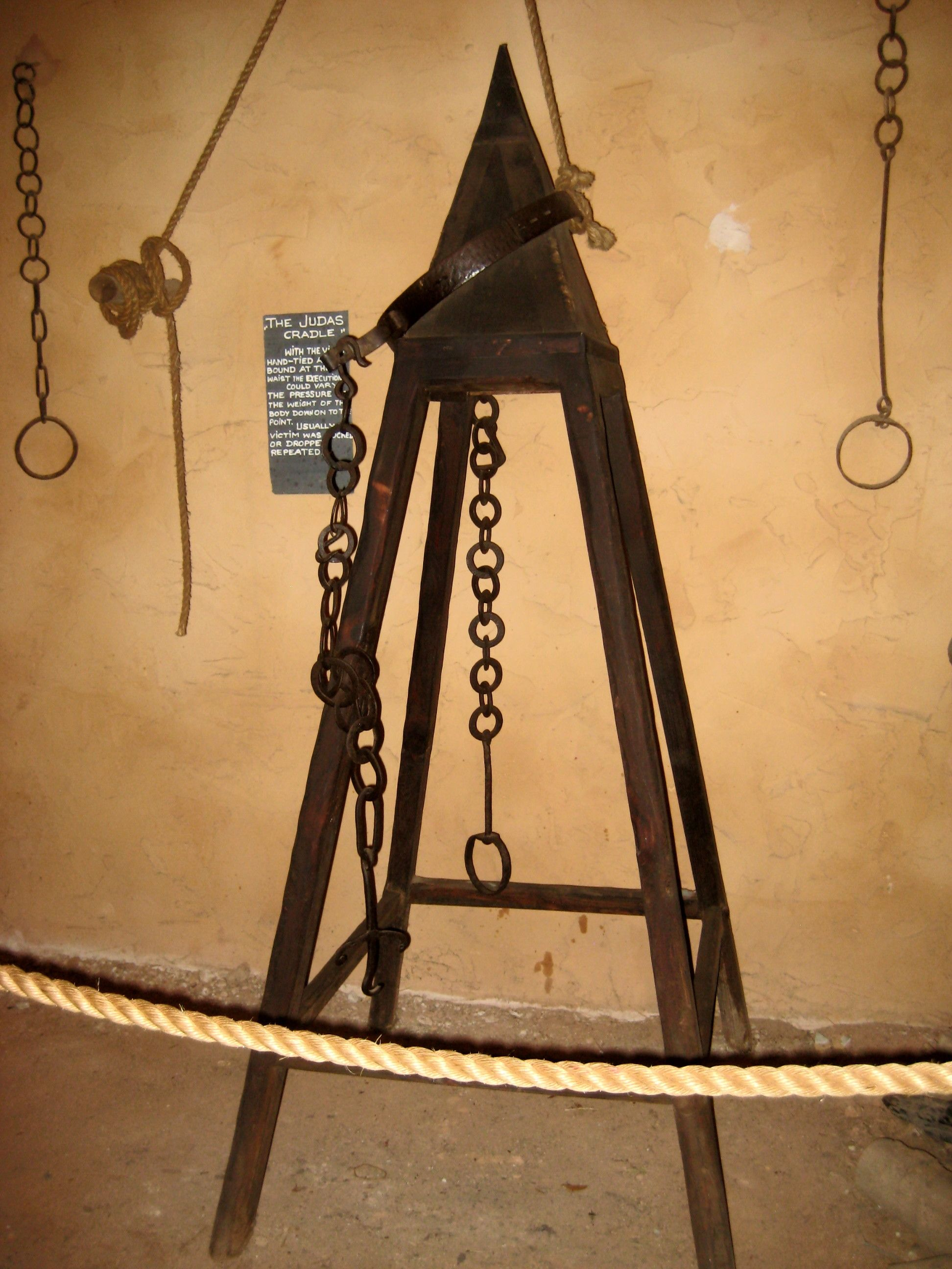 Essay On Chinese Culture Judas Cradle  The Spanish Inquisition Was Known For Its Many Torture  Devices And The Judas Cradle Was One Of The Most Painful The Victim Would  Presumably  Sample Interview Essays also Pharmacy Essays Judas Cradle  The Spanish Inquisition Was Known For Its    Top  Best Essay Format