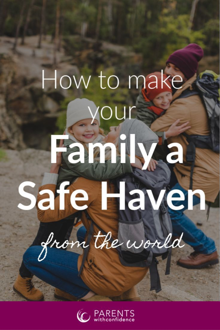How to Make Your Family a Safe Haven From the World #bondingwithchild Strengthen the relationship with your child and make your family a safe harbor for your child's storms with these 6 guiding principles that will build a strong family bond and a close parent-child relationships.  #kids #parenting #family #parentingadvice #childhood #motherhood #parentingtips #bondingwithchild How to Make Your Family a Safe Haven From the World #bondingwithchild Strengthen the relationship with your child and m #bondingwithchild