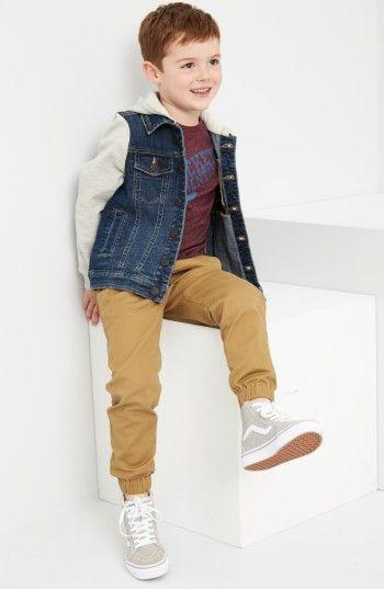 Toddler Boy Jogger Pant Outfit Jet Boy Pinterest Toddler