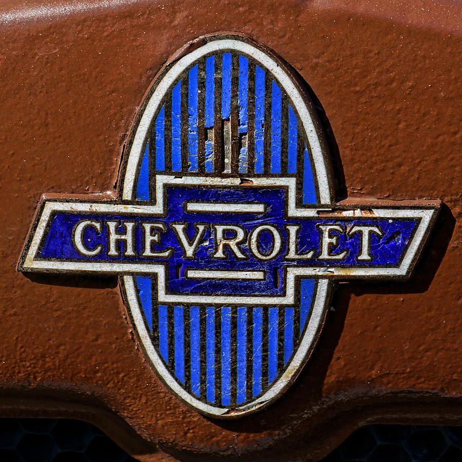 Vintage Chevrolet Logo.