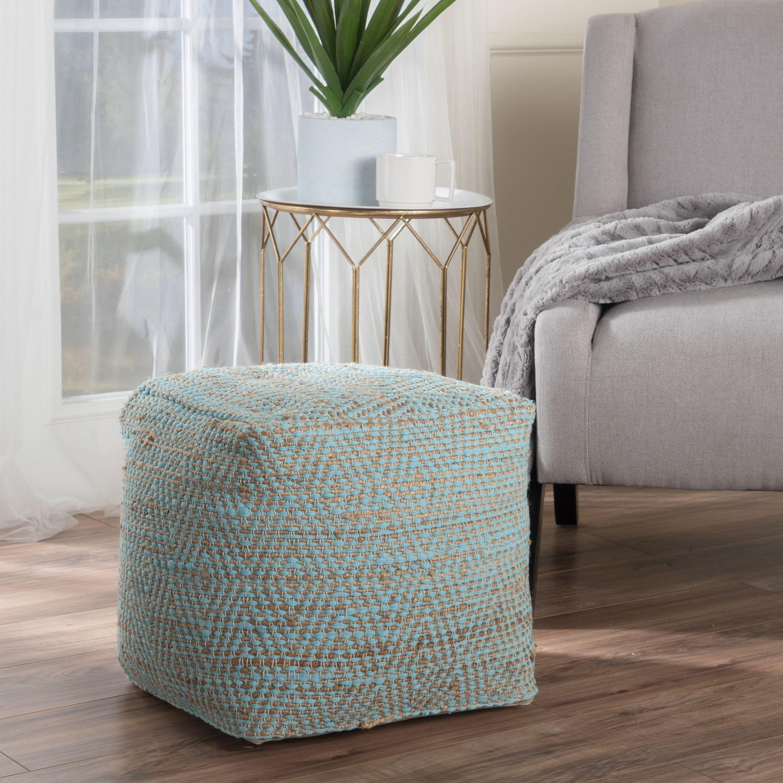 Brilliant Federalsburg Pouf Diys To Try Aqua Fabric Pouf Ottoman Short Links Chair Design For Home Short Linksinfo