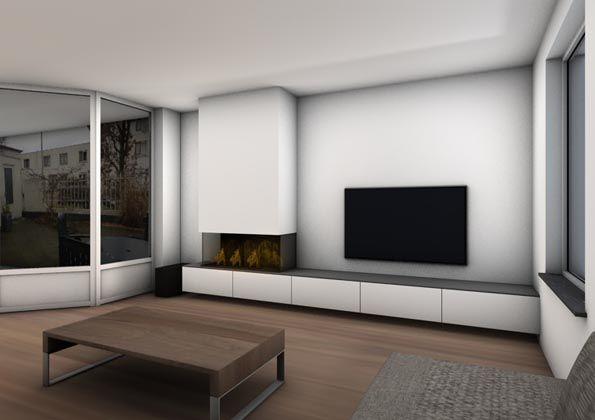 badkamer-open-haard-vloerverwarming-lounge-Leolux_interieurontwerp ...