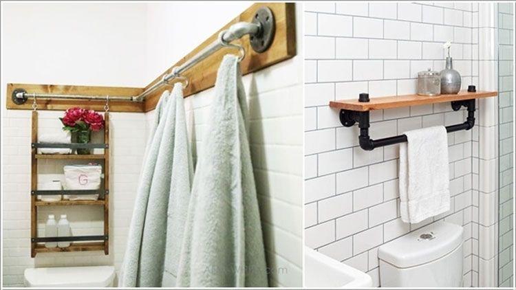 Idee Creative Casa : Idee creative per riciclare tubi idraulici e arredare casa