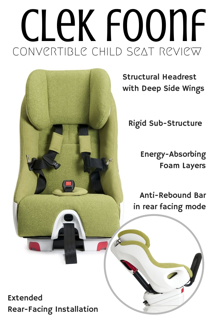 Clek Foonf Convertible Child Seat Review