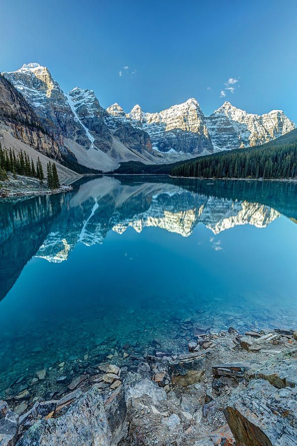 Moraine Lake Blues Beautiful Landscapes Nature Photography Nature Pictures