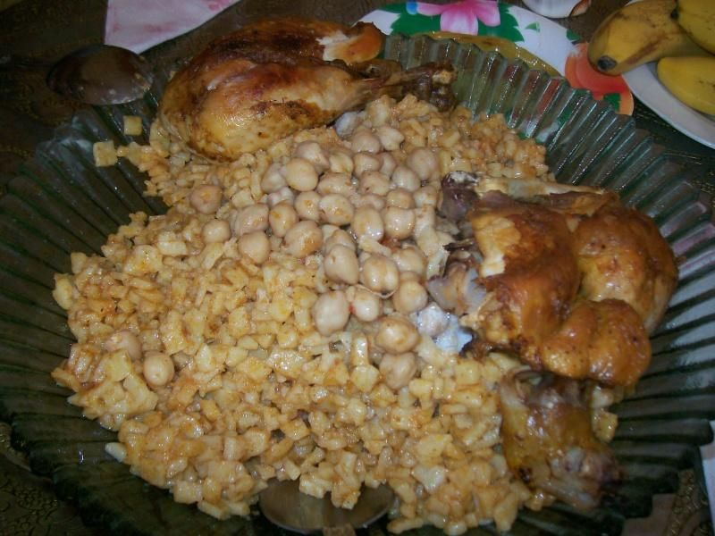 كيفية تحضير الشخشوخة الجزائرية Food Preparation Chicken