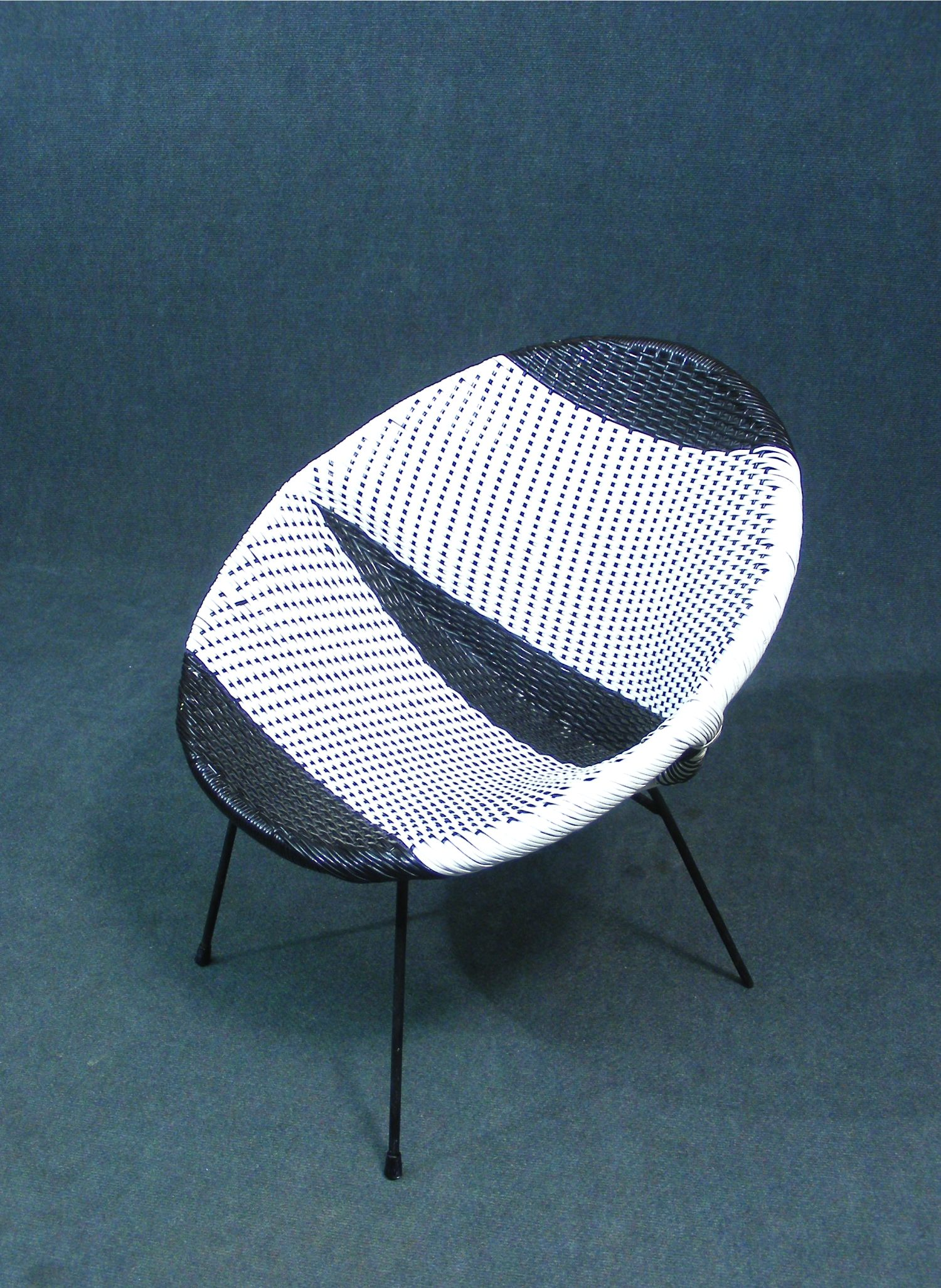 Satellite Chair This Is A Wonderful Original Vintage Retro 1960 S Woven Atomic