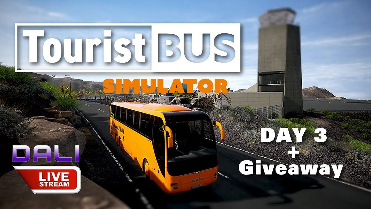 Starting soon    Tourist Bus Simulator DAY 3 + GIVEAWAY LIVE | Games