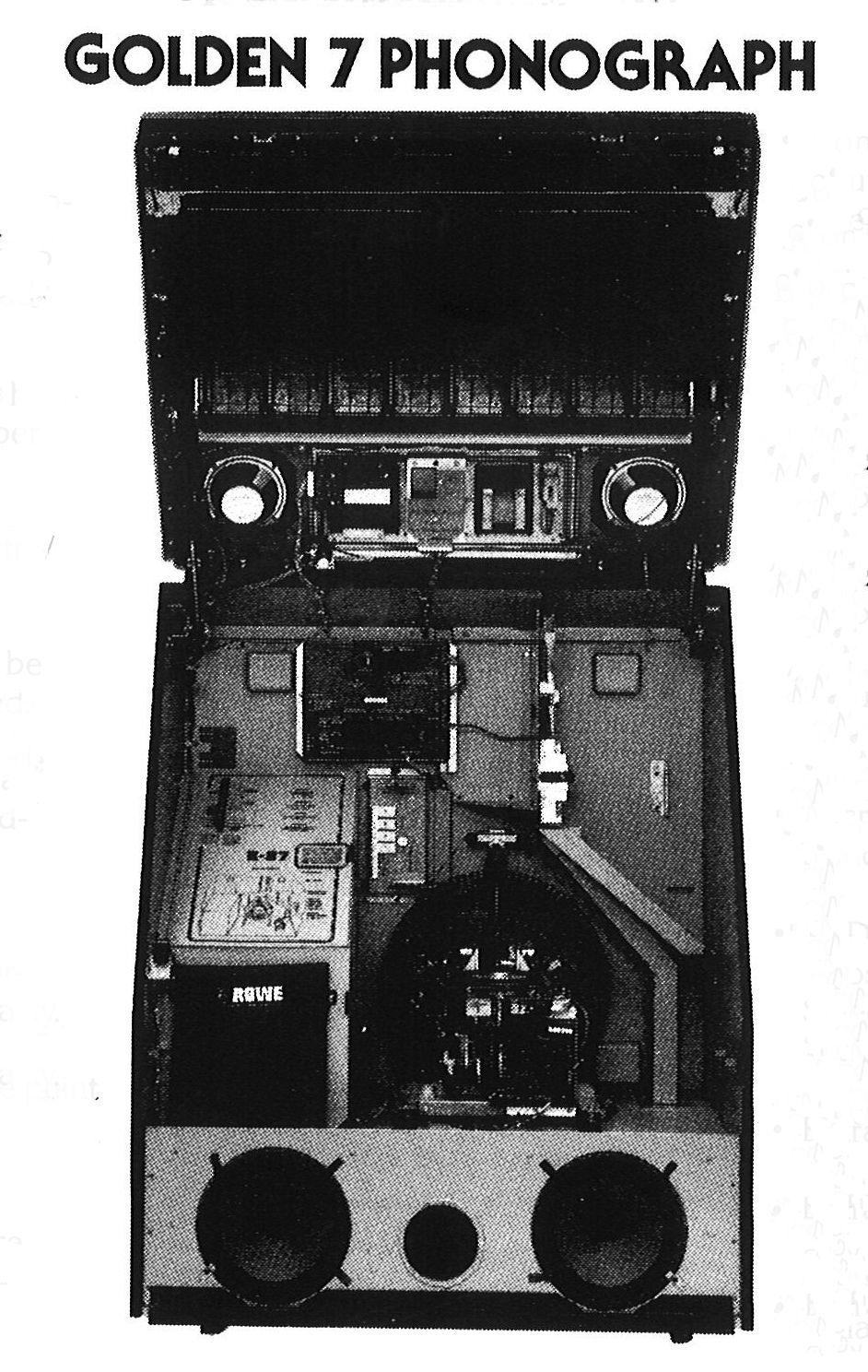 """1983, RoweAMI's R87 Golden 7 A """"central computer"""