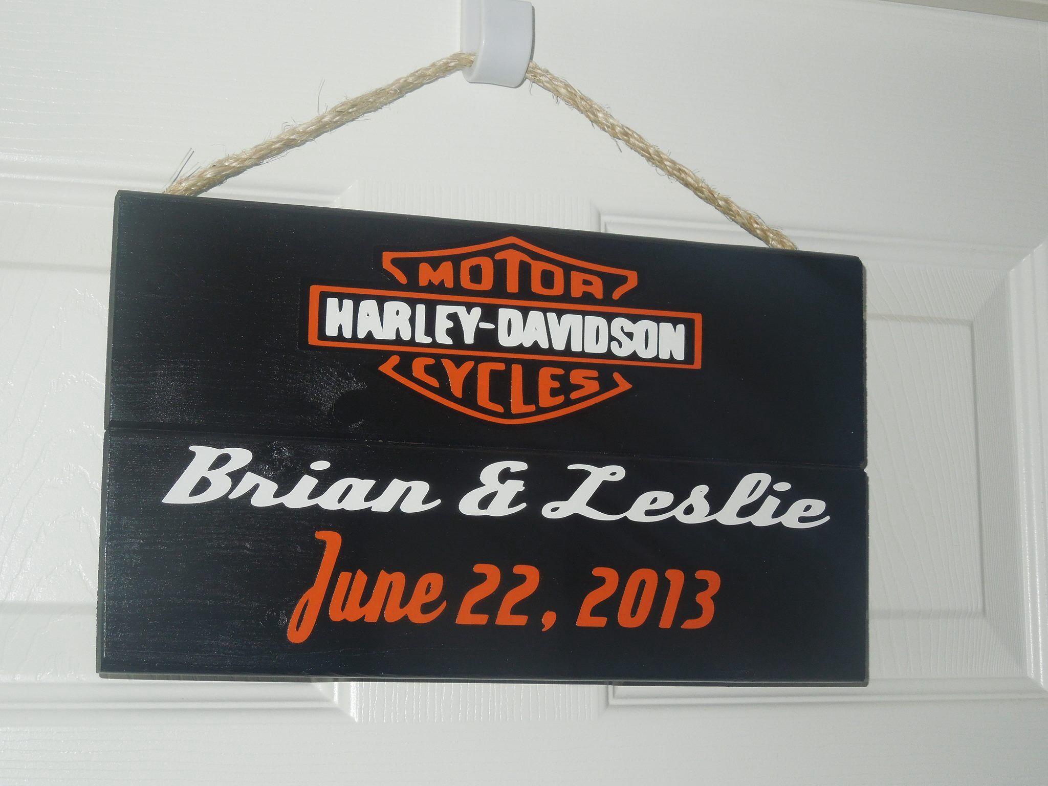Harley Davidson Wedding Anniversary httpswwwfacebookcom