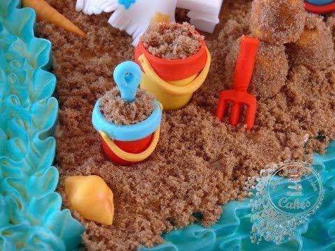Come Fare Un Ombrellone.How To Make A Beach Umbrella Cake Topper Out Of Fondant Come