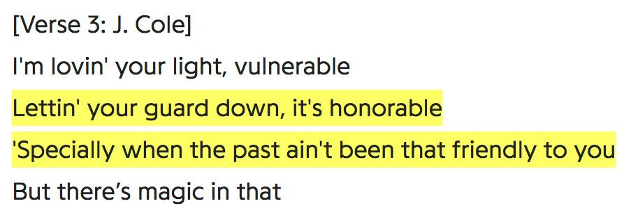 6lack Pretty Little Fears Ft J Cole J Cole Lyrics Quotes