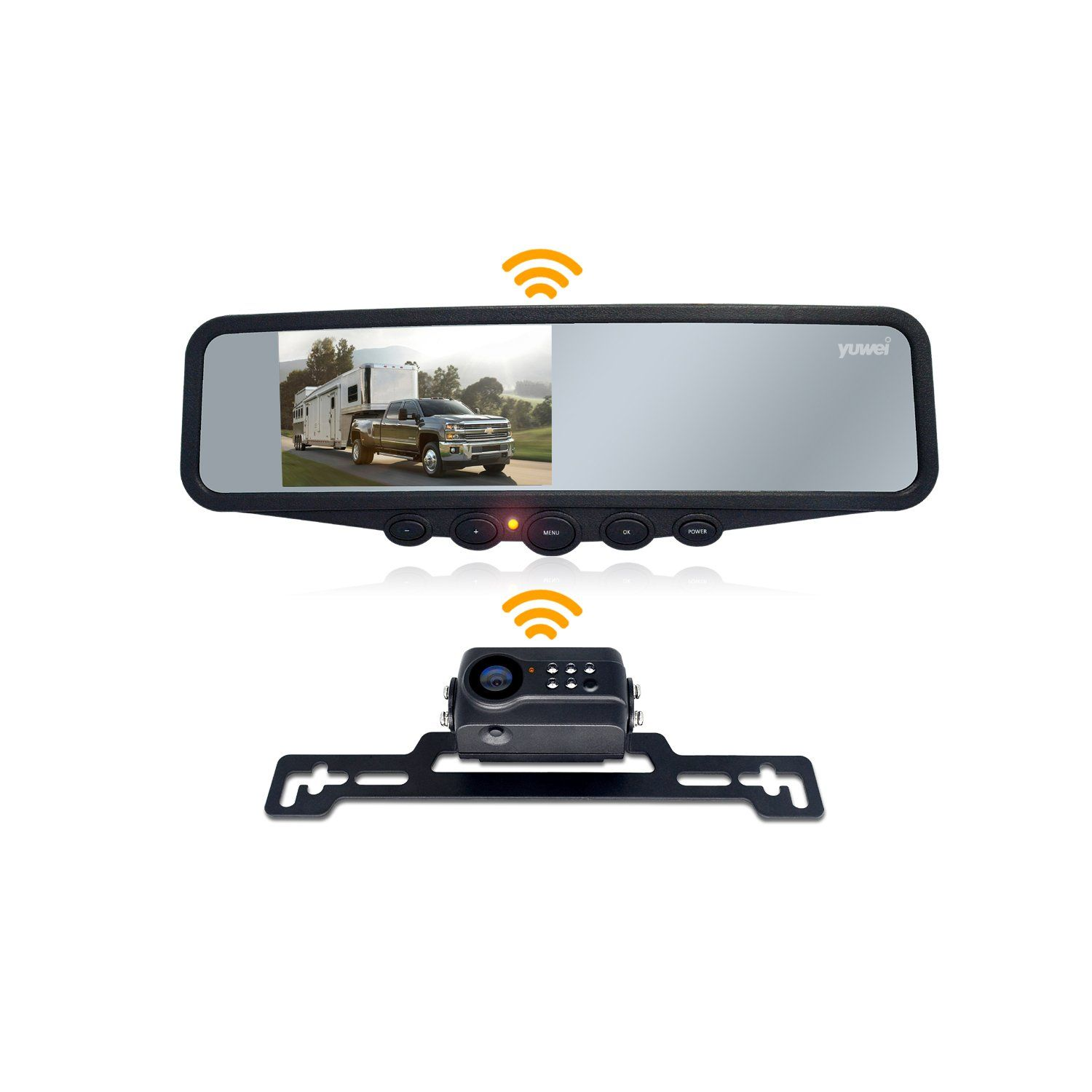 Wireless Backup Camera System, IP69K Waterproof Wireless License ...