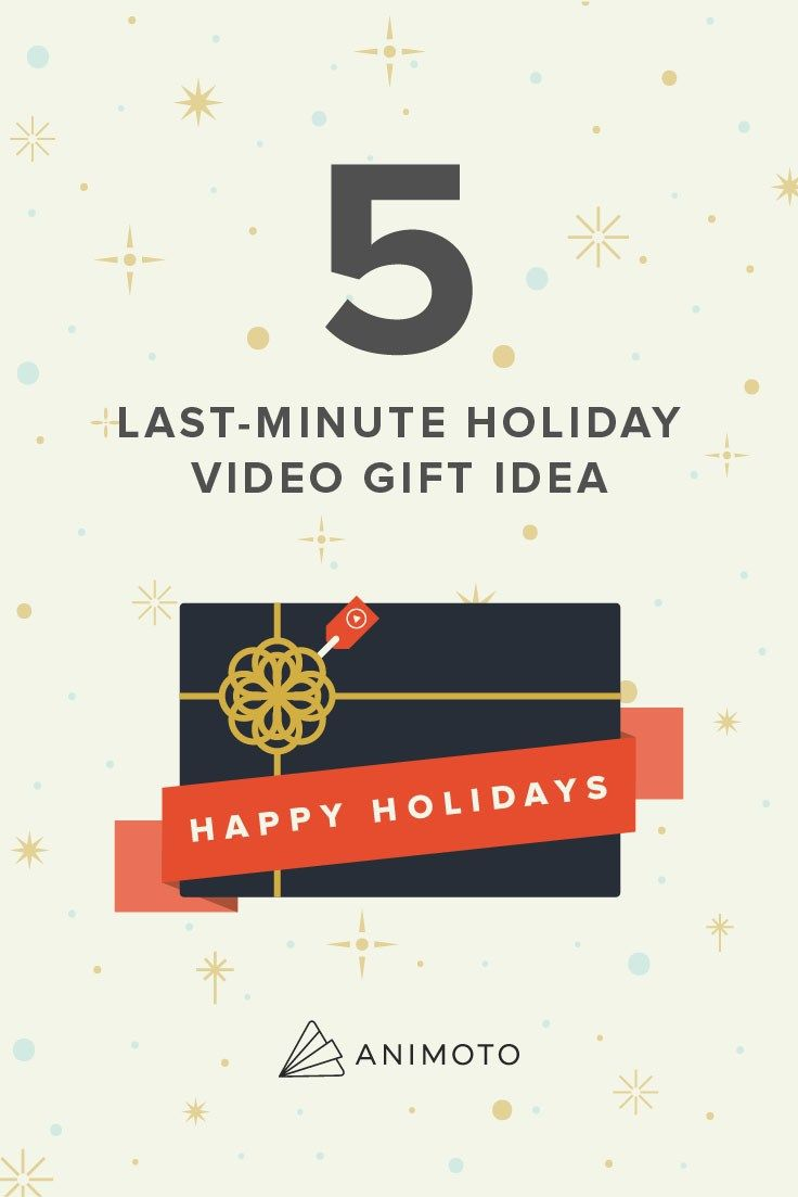 5 last minute holiday video gift ideas do it yourself find this pin and more on do it yourself solutioingenieria Choice Image
