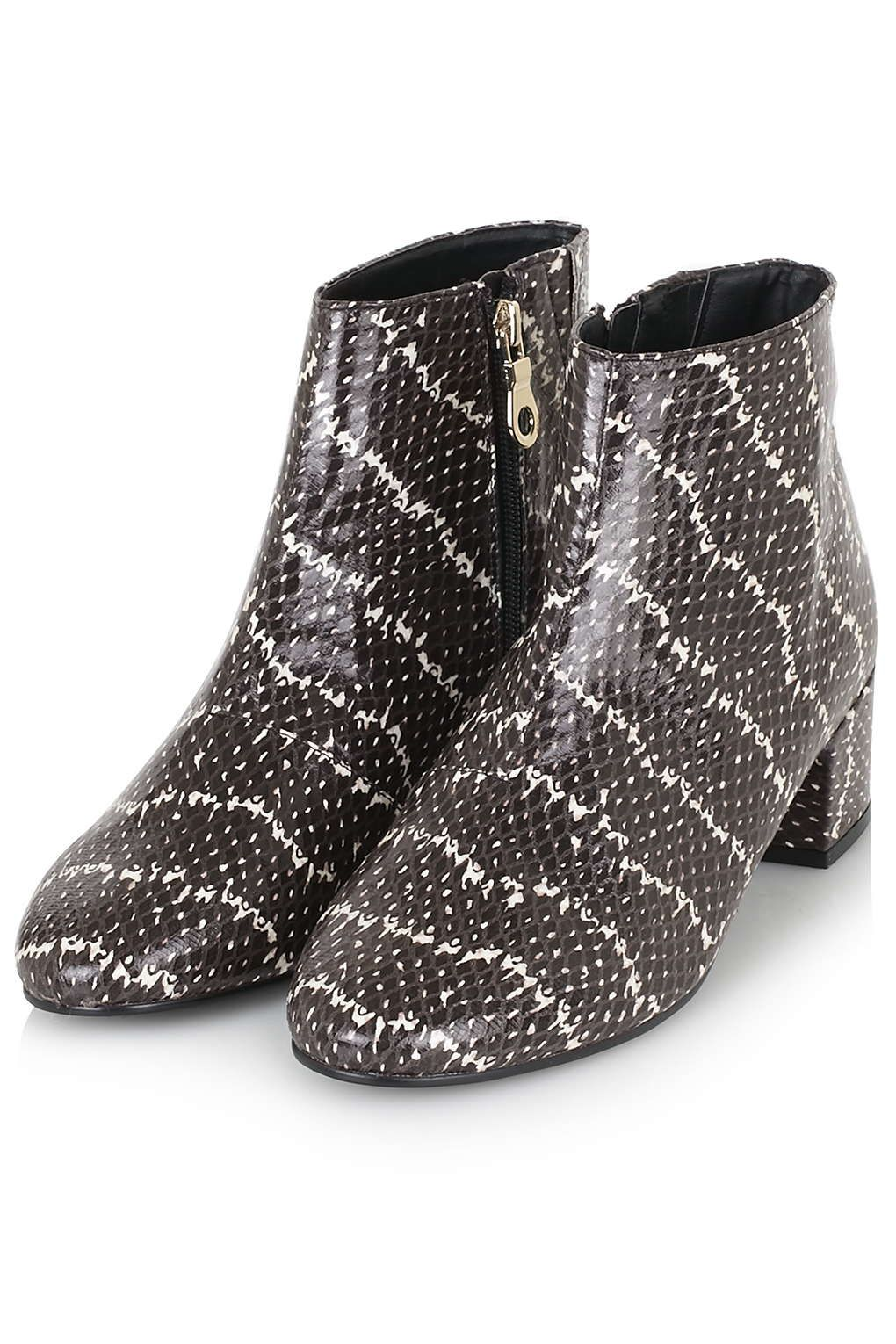 Photo 3 of BETTY Snake-Effect Boots