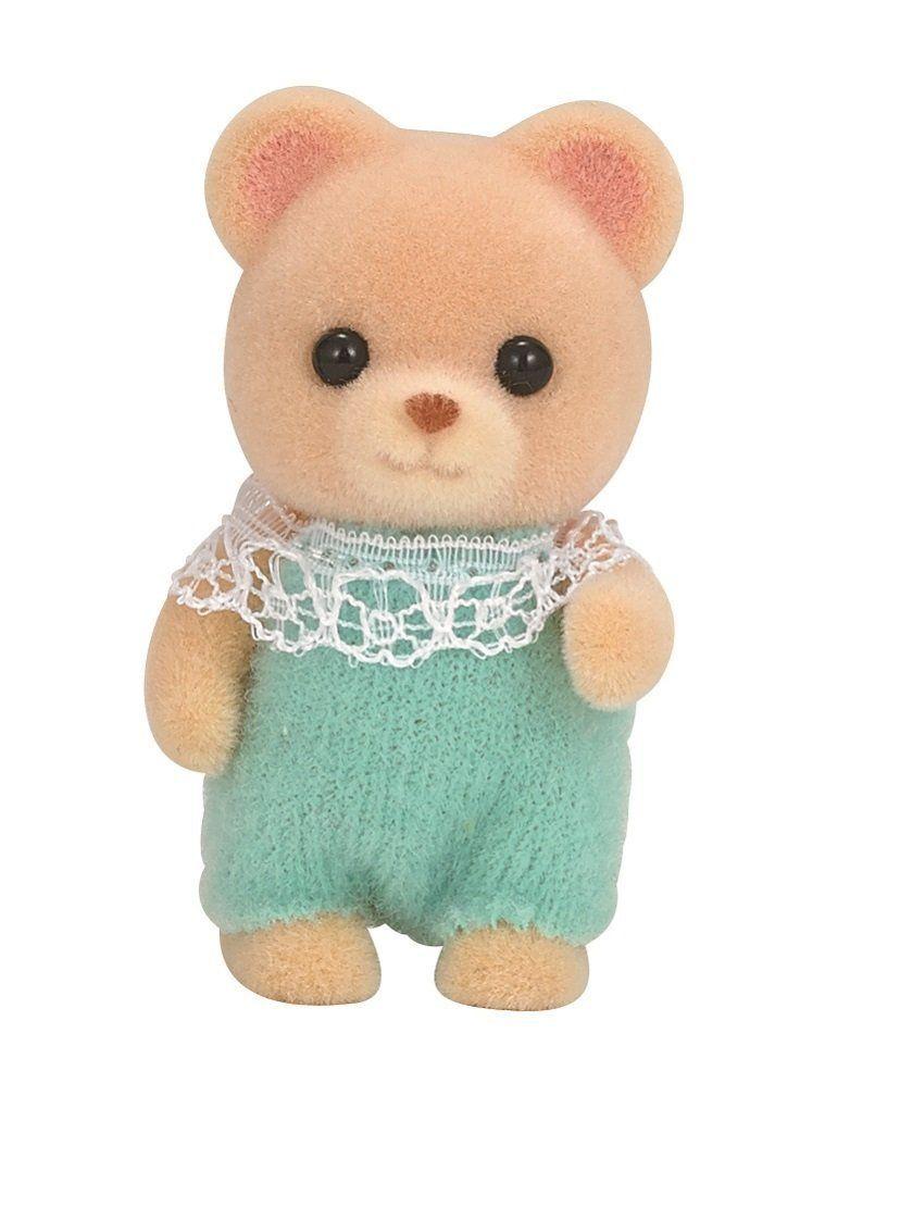 Jp Sylvanian Families Calico Critters Ku 68 Bear Baby Doll