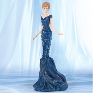 Princess Figurines | Glamorous Dream - Princess Diana Figurine Bradford Exchange - Burning ...