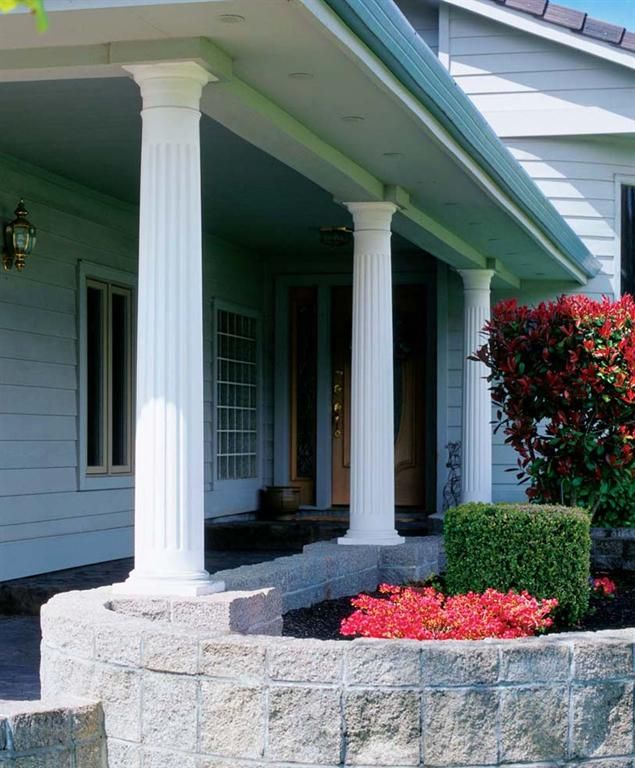 wood colonial columns the craftsmanship and practical