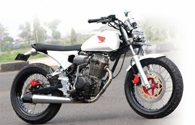 Honda Cb 100 Japanese Style Custom Bike Classic And